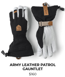 Hestra Army Leather Patrol Gauntlet Glove
