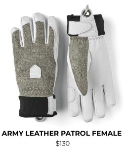 Hestra Army Leather Patrol Female Glove