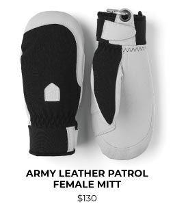 Hestra Army Leather Patrol Female Mitt