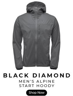 Black Diamond alpine start softshell hoody