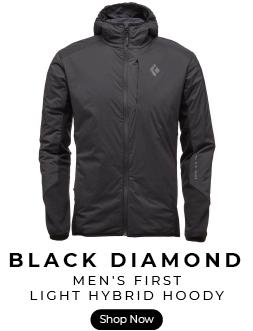 Black Diamond first light softshell hoody