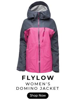 Flylow women's domino ski jacket