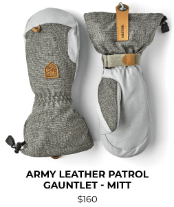 Hestra Army Leather Patrol Gauntlet Mitt