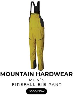 Mountain HArdwear firefall bib ski pant