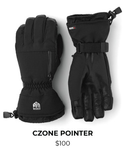 Hestra CZone Pointer Glove