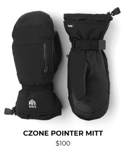 Hestra CZone Pointer Mitt