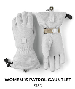 Hestra Army Leather Patrol Gauntlet Women's Glove
