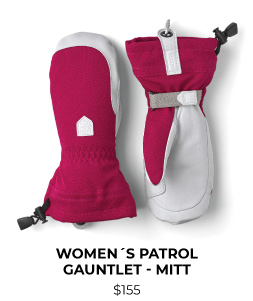 Hestra Army Leather Patrol Women's Gauntlet Mitt
